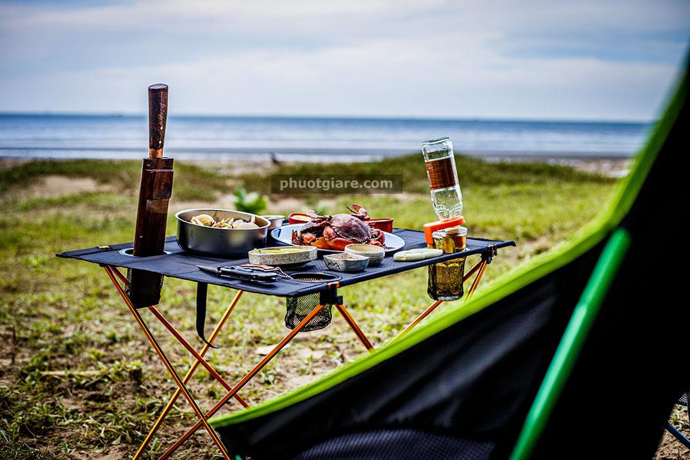 Cần Giờ, bãi cắm trại gần SG nhất, hải sản ngặp mặt, ngon bổ rẻ