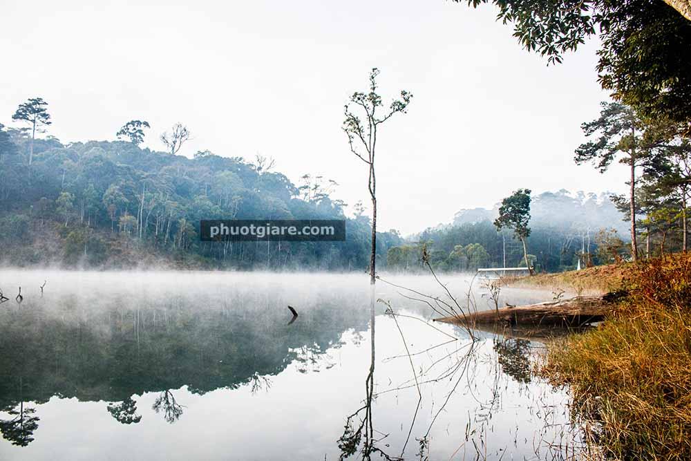 Đà Lạt – săn sương ở hồ Tuyền Lâm