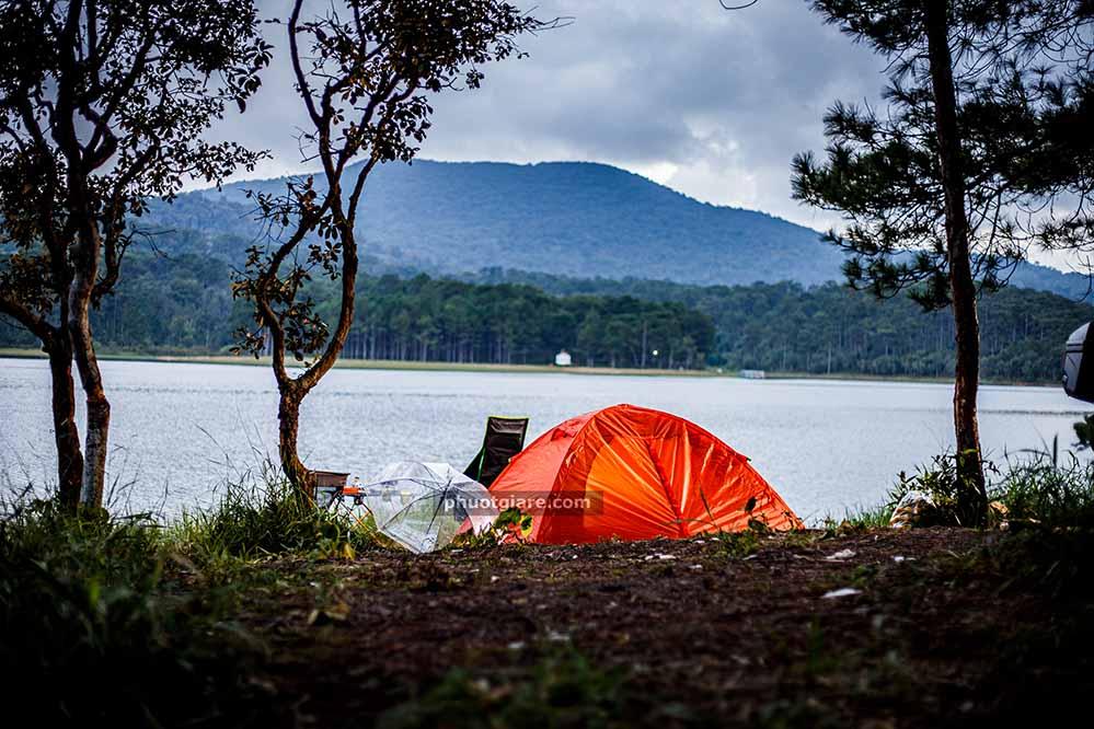 Hồ Tuyền Lâm – bãi cắm trại Đà Lạt, cắm mãi không chán
